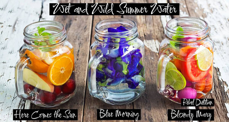 fruit water recipes fruit flowers