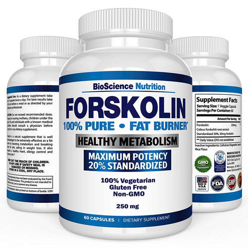 BioScience Nutrition: Forskolin 100% Pure Extract