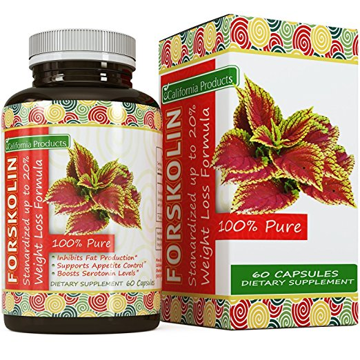 California Products: 100% Pure Forskolin Extract