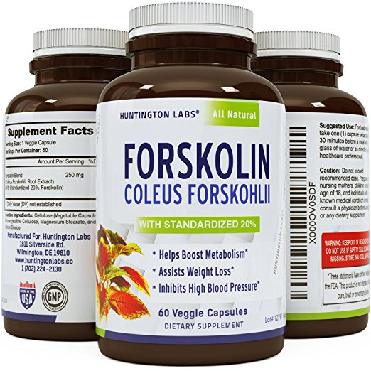 Huntington Labs: Pure Forskolin Supplement