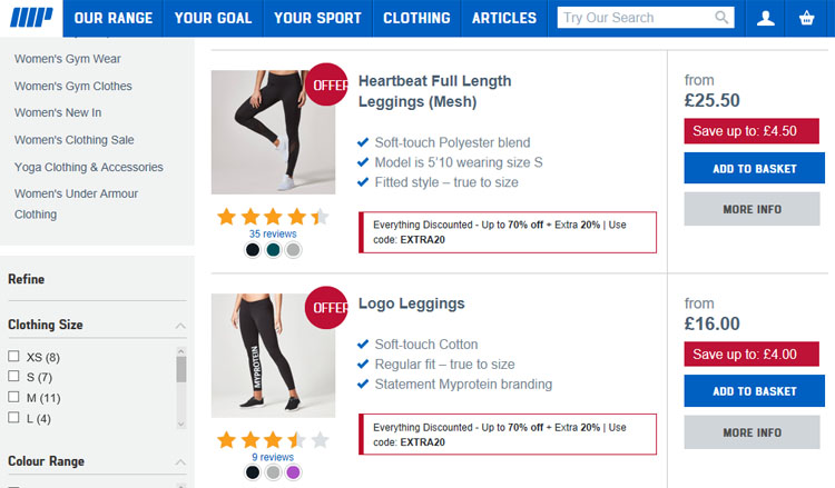 Myprotein Leggings