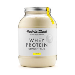 Protein World Whey Concentrate Just $34/£24!