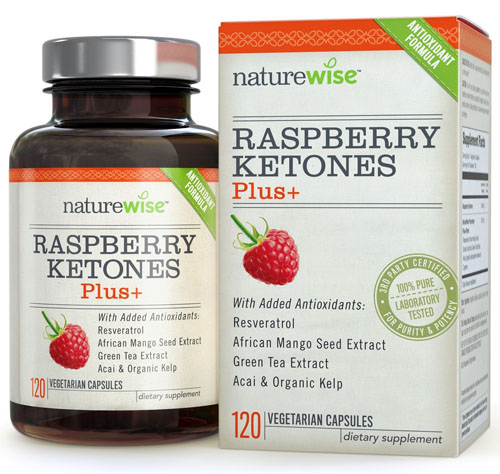 Nature Wise: Raspberry Ketones Plus+