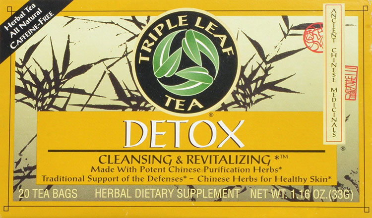 Triple Leaf Detox Tea