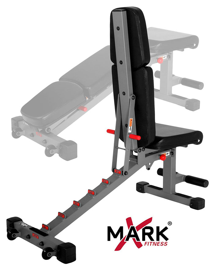 XMark Adjustable FID Weight Bench