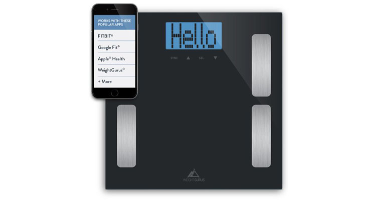Weight Guru Digital Body Fat Scale