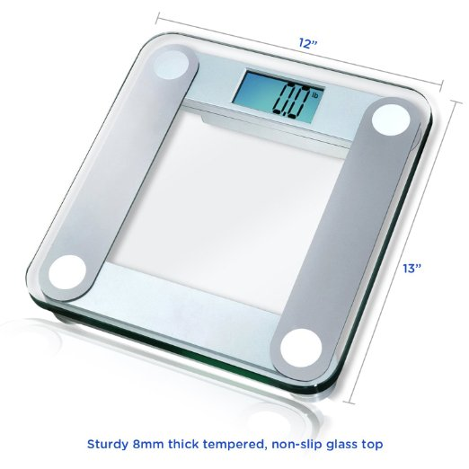 Bathroom Scale Ratings: EatSmart Precision Digital Bathroom Scale Review